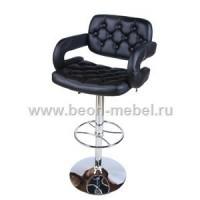 Барный стул из экокожи черный TIESTO ZC-346