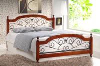 Кровать полуторная AT-9156 Double bed (140200)
